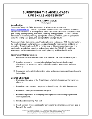 image about Ansell Casey Life Skills Assessment Printable identified as Ansell Casey Daily life Expertise Evaluation - Fill On the internet, Printable