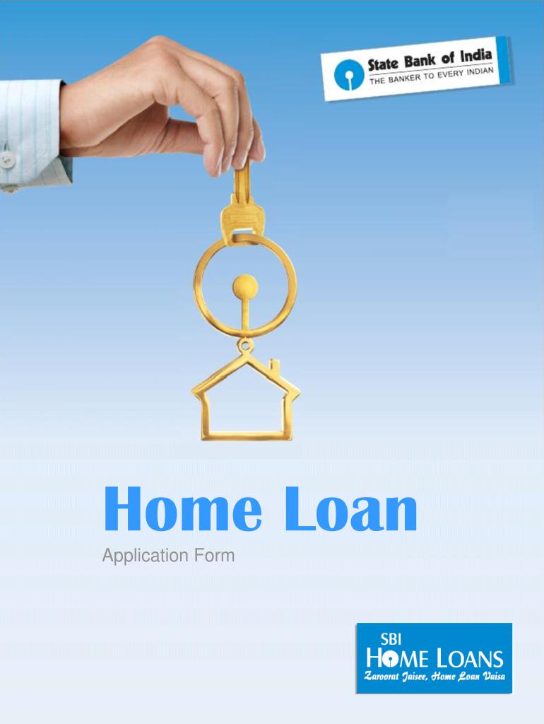Sbi Home Loan Application Form - Fill Online, Printable