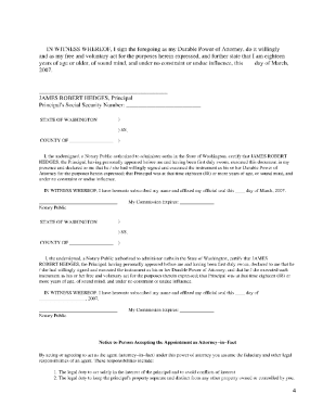 Simplicity image throughout free printable power of attorney form washington state