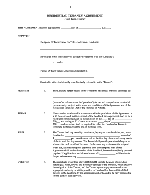 13 Printable Rental Agreement Ontario Forms And Templates Fillable