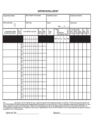 Certified Payroll Form (PDF) - uc