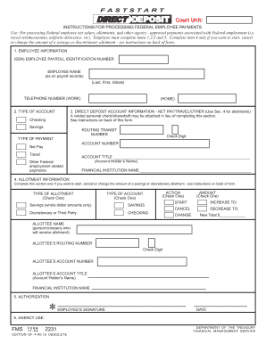 Fms 2231 Fillable - Fill Online, Printable, Fillable, Blank ...