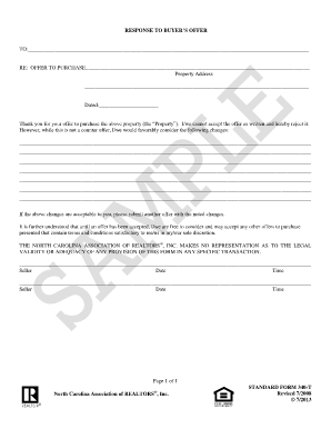 sample buyer form