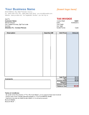 asl interpreter invoice template  21 Printable Freelance Invoice Template Forms - Fillable Samples in ...