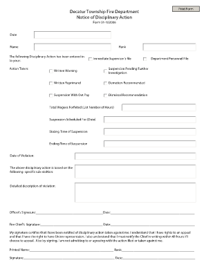 Letter Of Termination Of Employment With Notice Forms and Templates