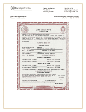 Printable mexican birth certificate translation template pdf mexican birth certificate translation template pdf yelopaper Gallery