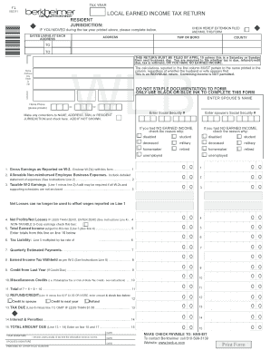 How To Fill An Income Tax Form - Fill Online, Printable, Fillable ...