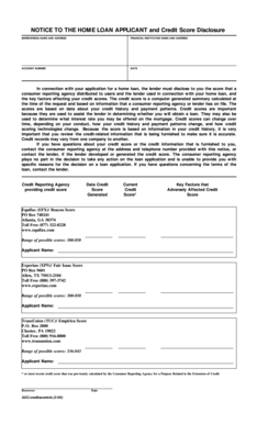 Fillable Online Notice To The Home Loan Applicant And Michigan Mutual Fax Email Print Pdffiller