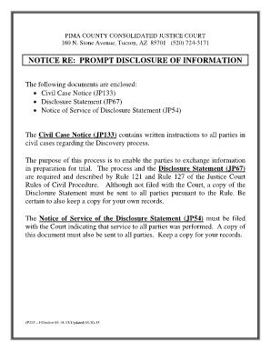 Civil Case Notice Jp133 - Fill Online, Printable, Fillable