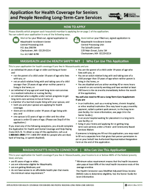 masshealth saca 2014  form