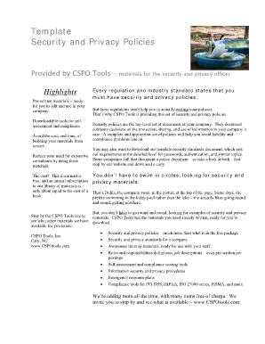 Download Privacy Policy Template - TermsFeed