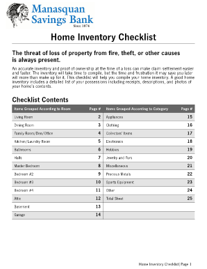 Creating A Home Inventory Insurance Learning Center State Farm