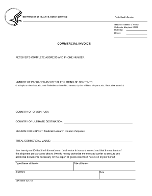 Editable fedex commercial invoice 2017 - Fill Out & Print