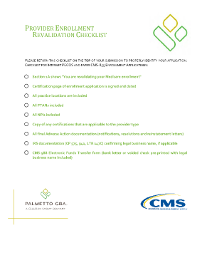 medicare enrollment application cms-855i Forms and Templates ...