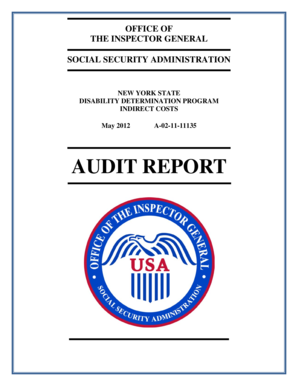 Fillable Online oig ssa View the PDF - Office of the