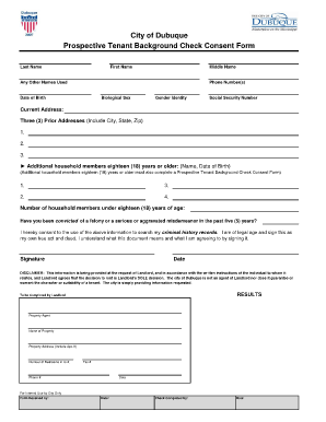 ... Background Check Consent Form Fill Online Printable Fillable ...