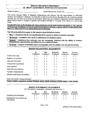 Fillable Online michbar Mental RFC Fax Email Print - PDFfiller