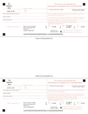 Nj 1040 Es - Fill Online, Printable, Fillable, Blank | PDFfiller