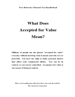 Personal training contract sample forms and templates for Acceptance for value template