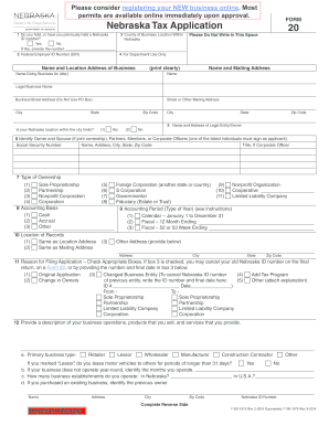 Bill Of Sale Form Nebraska Tax Power Of Attorney Form Templates ...