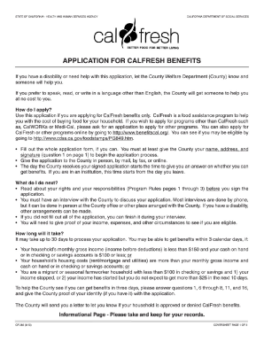 Food Stamps Ca Eligibility Pdf