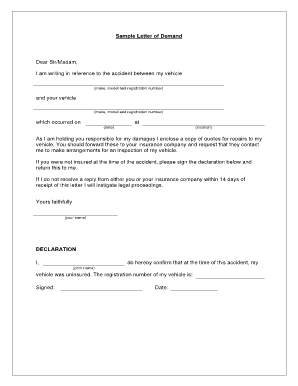 Sample Reminder Letter Forms And Templates