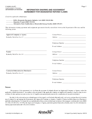 revenue sharing contract template - assignment agreement forms and templates fillable