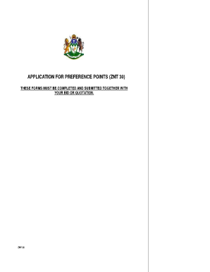 znt 30 form download