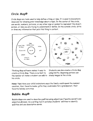 photo about Printable Thinking Maps called Put up questioning maps templates pdf PDF Varieties and Report