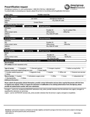 Precertification Template - Fill Online, Printable, Fillable ...