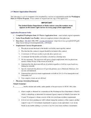 j 1 visa waiver recommendation application