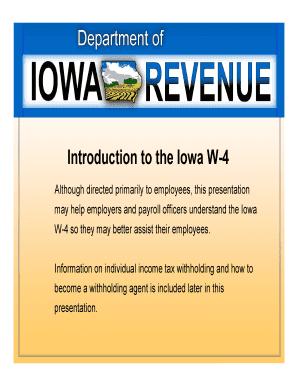 Bill Of Sale Form Iowa W-4 - State Of Iowa Templates - Fillable ...