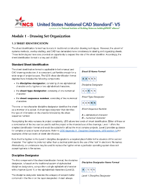 Fillable Online United States National Cad Standard V5 Uniform
