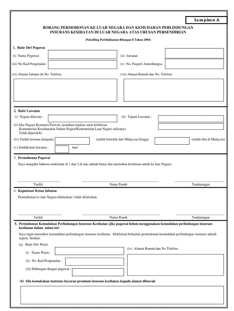 Permohonan Ke Luar Negara Online Kpm Fill Online Printable Fillable Blank Pdffiller Pdffiller