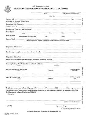 2011-2017 Form DS-2060 Fill Online, Printable, Fillable, Blank ...