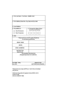 Va Form 2346a Cogu Lessecretsdeparis Co