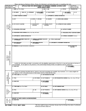Renewable Dd Form 1172 2 - Fill Online, Printable, Fillable
