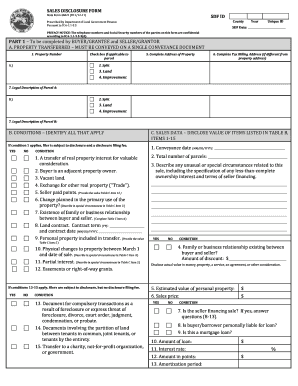 Indiana Sales Disclosure Form - Fill Online, Printable ...