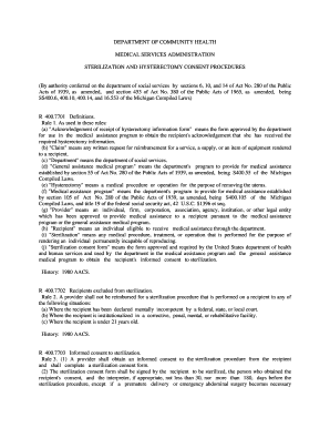 Editable dshs hysterectomy consent form - Fill Out Best Forms