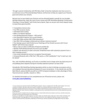 what is pnc workplace banking - Edit & Fill Out, Download Printable