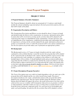 Grant Proposal Template - lac