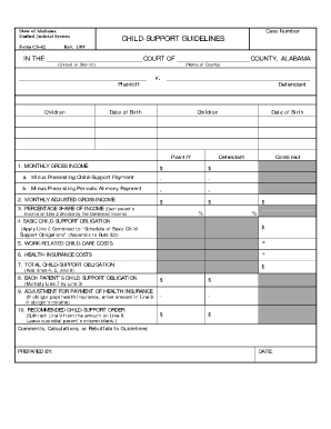 cs 42 form alabama - Printable Templates to Fill Out