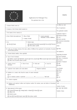 Fillable Online France Business Visa Application Form France Visa Fax Email Print Pdffiller