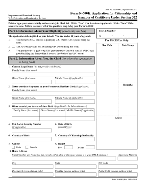 Form N-600K, Application for Citizenship and Issuance of ... - USCIS - uscis