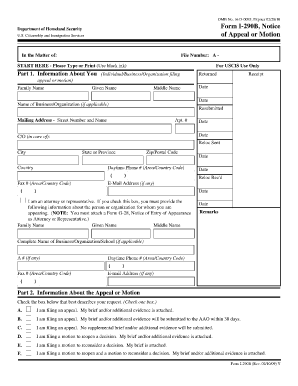 From I290b Part 2 Petition Form - Fill Online, Printable, Fillable ...