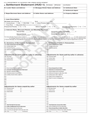 hud 1 statement form