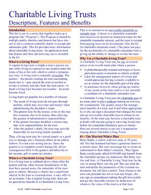 Living Trust Sample Fill In Fill Online Printable