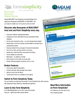 Form Simplicity Florida - Fill Online, Printable, Fillable, Blank ...