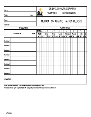 Medication Administration Record Pharmacy Supply Products Integral ...