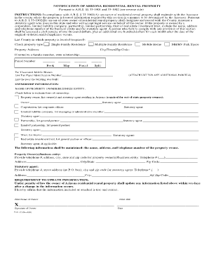 yavapai county residential rental form